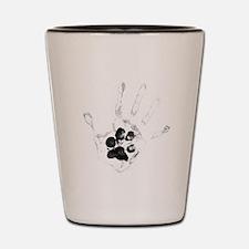 Unique Hand Shot Glass