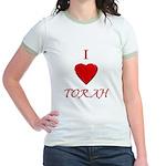 I Love Torah Jr. Ringer T-shirt