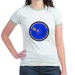 Torah, The Target Of God Jr. Ringer T-shirt