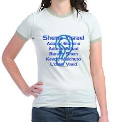 Shema Yisrael Jr. Ringer T-shirt
