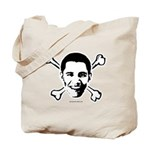 Obama crossbones Tote Bag