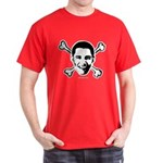 Obama crossbones Dark T-Shirt