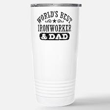 Cute Ironworker wife Travel Mug