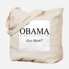 Obama: Got Hope? Tote Bag