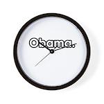 Obama period Wall Clock