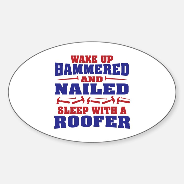 Cute Roofer Decal