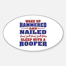 Cute Holiday humor Sticker (Oval)
