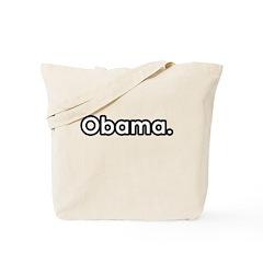 Obama period Tote Bag