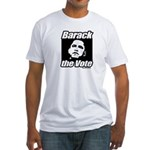 Barack the vote Fitted T-Shirt