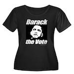 Barack the vote Women's Plus Size Scoop Neck Dark