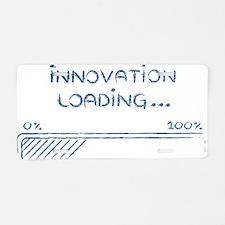 Cute Innovation Aluminum License Plate