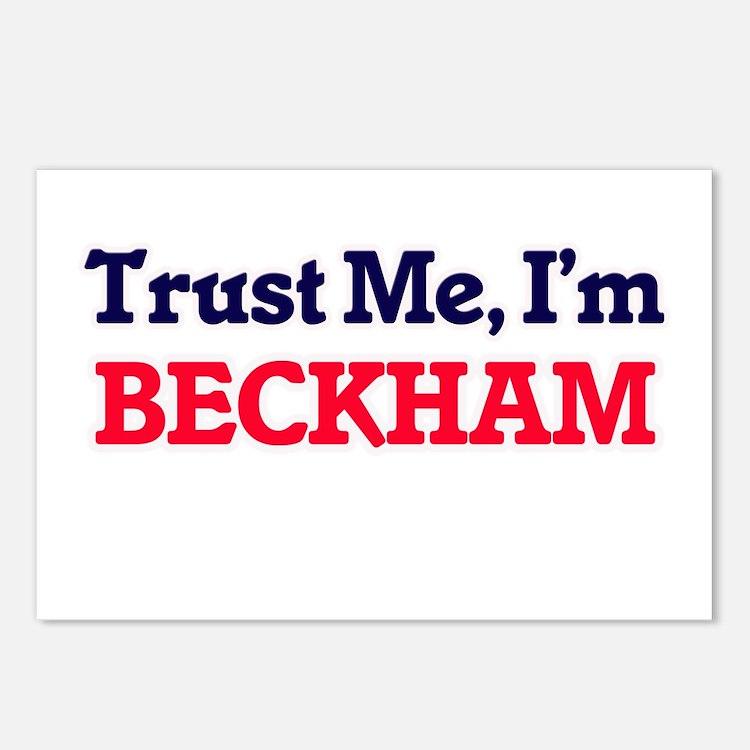 Trust Me, I'm Beckham Postcards (Package of 8)