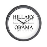 This time I want a smart President Wall Clock