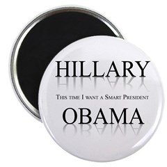 """This time I want a smart President 2.25"""" Magnet (1"""