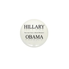 This time I want a smart President Mini Button (10