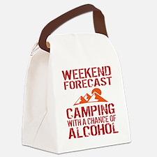 Unique Camping Canvas Lunch Bag