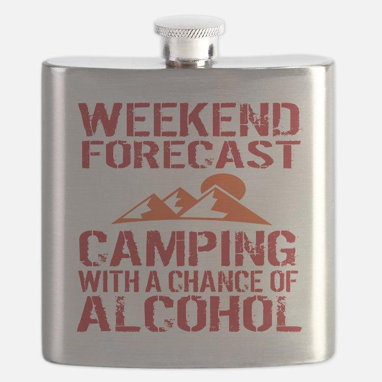 Cute Camping Flask