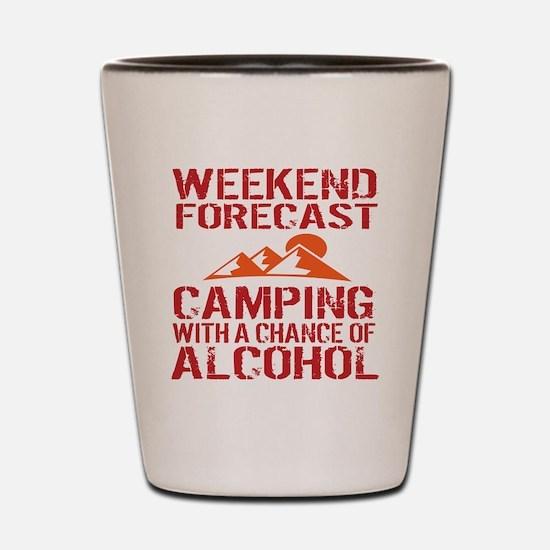 Cool Camp Shot Glass