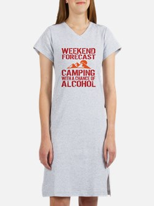 Cool Camping Women's Nightshirt