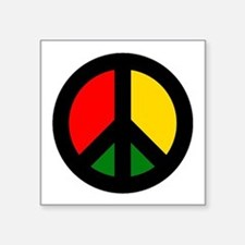 Rasta Ban the Bomb Sticker