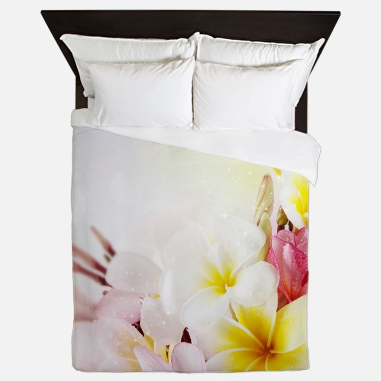 Cute Floral Queen Duvet