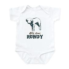 Hit That Rowdy Infant Bodysuit