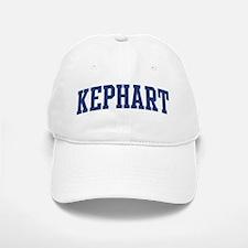 KEPHART design (blue) Baseball Baseball Cap