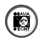 Obama 2008: Obama O eight Wall Clock