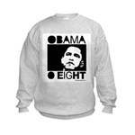 Obama 2008: Obama O eight Kids Sweatshirt