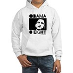 Obama 2008: Obama O eight Hooded Sweatshirt
