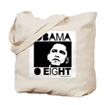 Obama 2008: Obama O eight Tote Bag