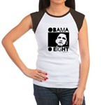 Obama 2008: Obama O eight Women's Cap Sleeve T-Shi