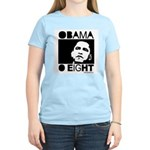 Obama 2008: Obama O eight Women's Light T-Shirt