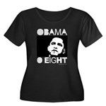 Obama 2008: Obama O eight Women's Plus Size Scoop