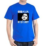 Obama 2008: Obama O eight Dark T-Shirt