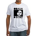 Obama 2008: Obama O eight Fitted T-Shirt