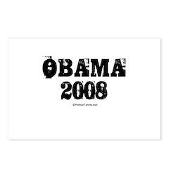 Vintage Obama 2008 Postcards (Package of 8)