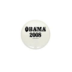 Vintage Obama 2008 Mini Button (100 pack)