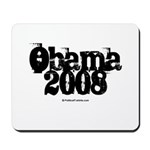 Vintage Obama 2008 Mousepad
