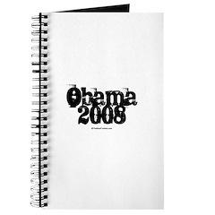 Vintage Obama 2008 Journal