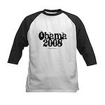 Vintage Obama 2008 Kids Baseball Jersey