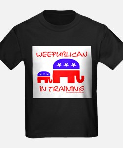 weepublican in training Kids T-Shirt