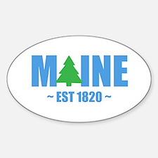 MAINE - EST 1820 PINE TREE Decal