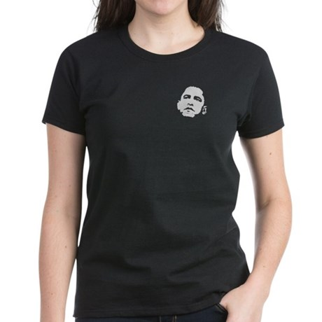 Obama 2008 Women's Dark T-Shirt