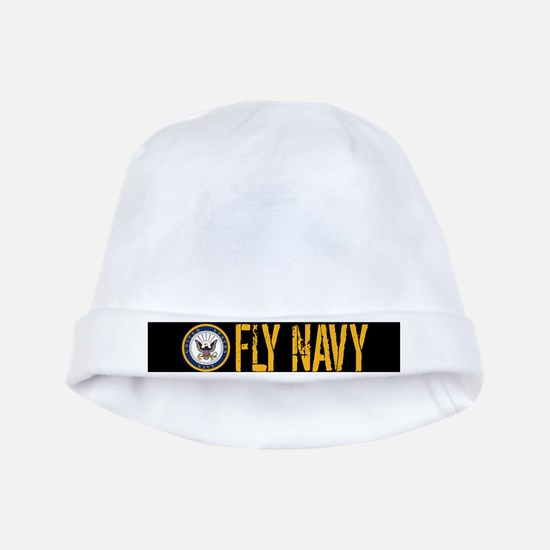 U.S. Navy: Fly Navy (Black) baby hat