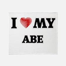 I love my Abe Throw Blanket
