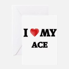 I love my Ace Greeting Cards