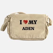 I love my Aden Messenger Bag