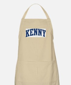 KENNY design (blue) BBQ Apron