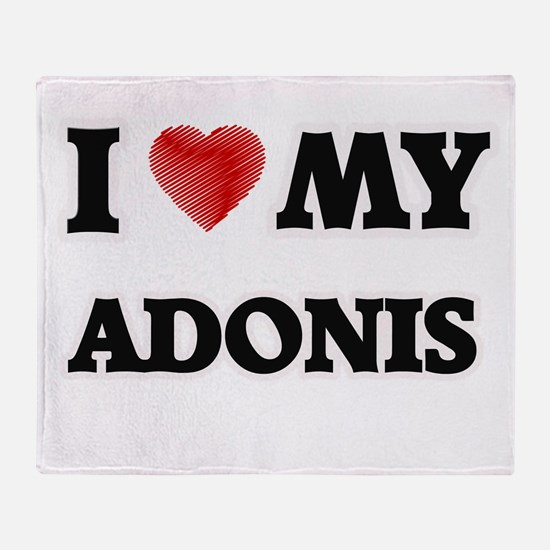 I love my Adonis Throw Blanket